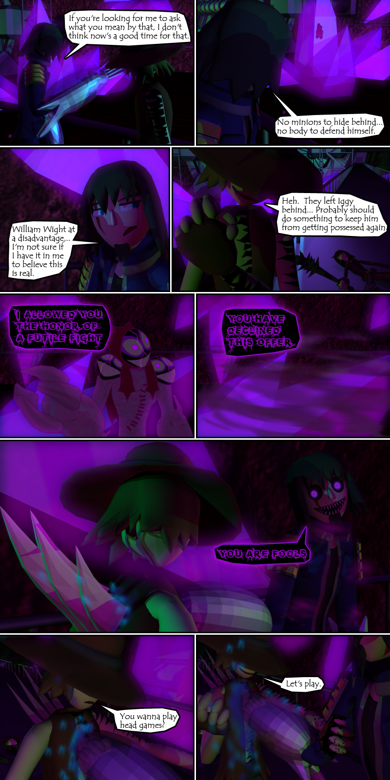 Hey, it's October... time for the comic to get super creepy again.