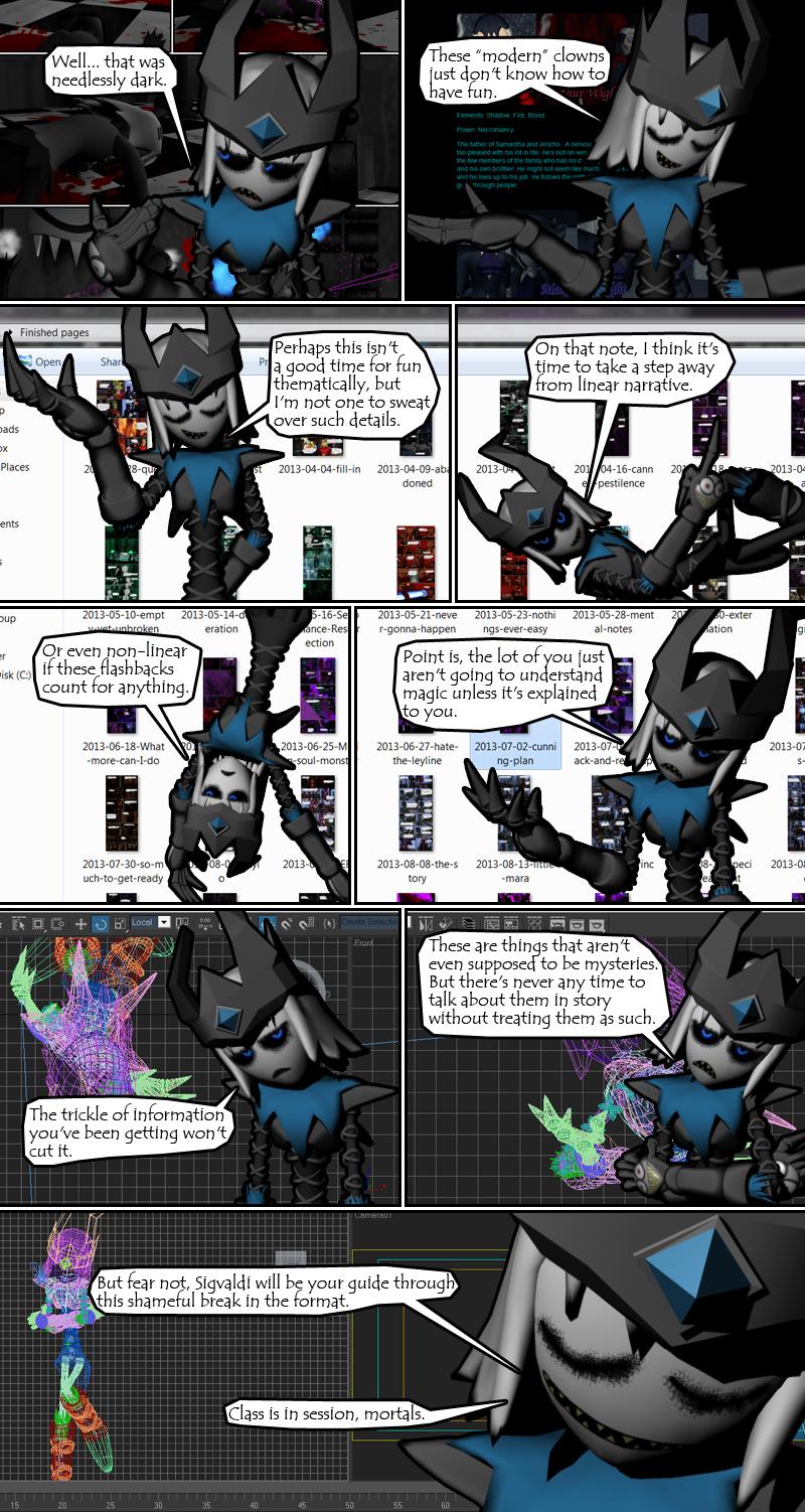 Suppression Special: Sigvaldi's Magic Lesson 1