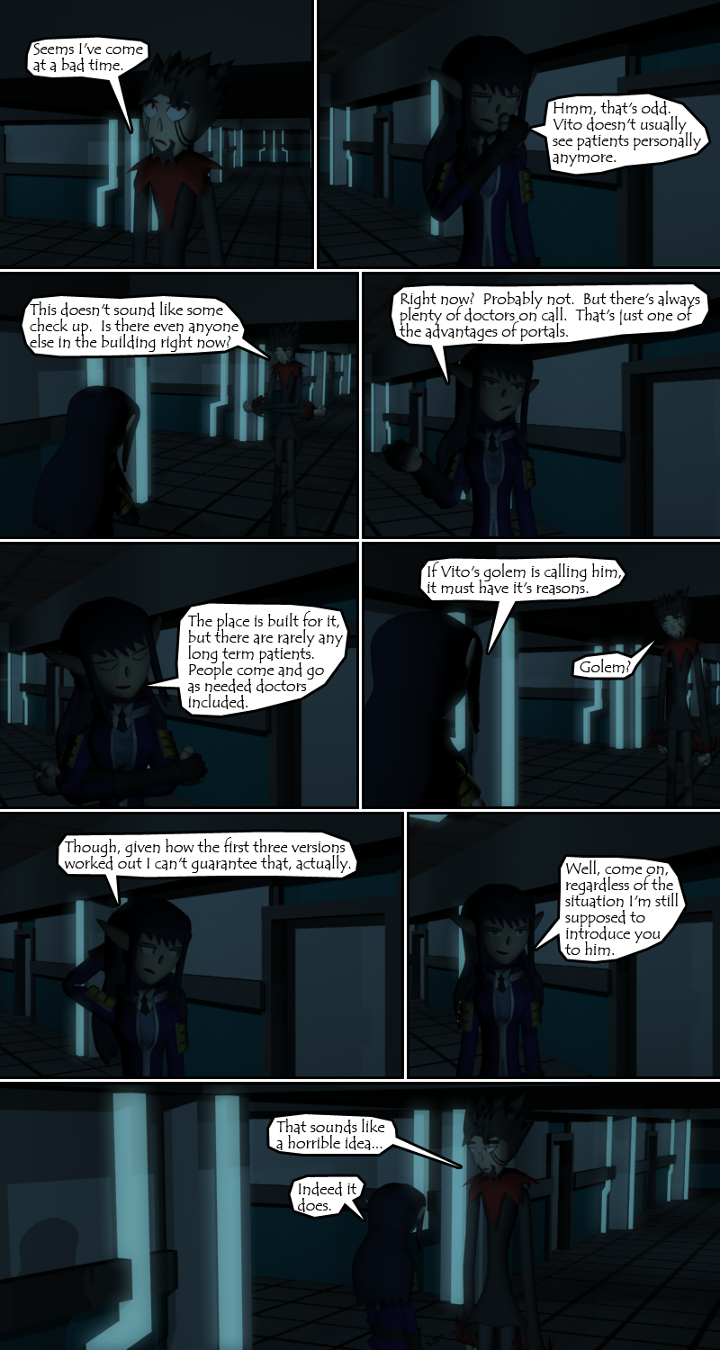 And for her 3rd page in a row, Azure turns the conversation around 180 degrees on the last panel.