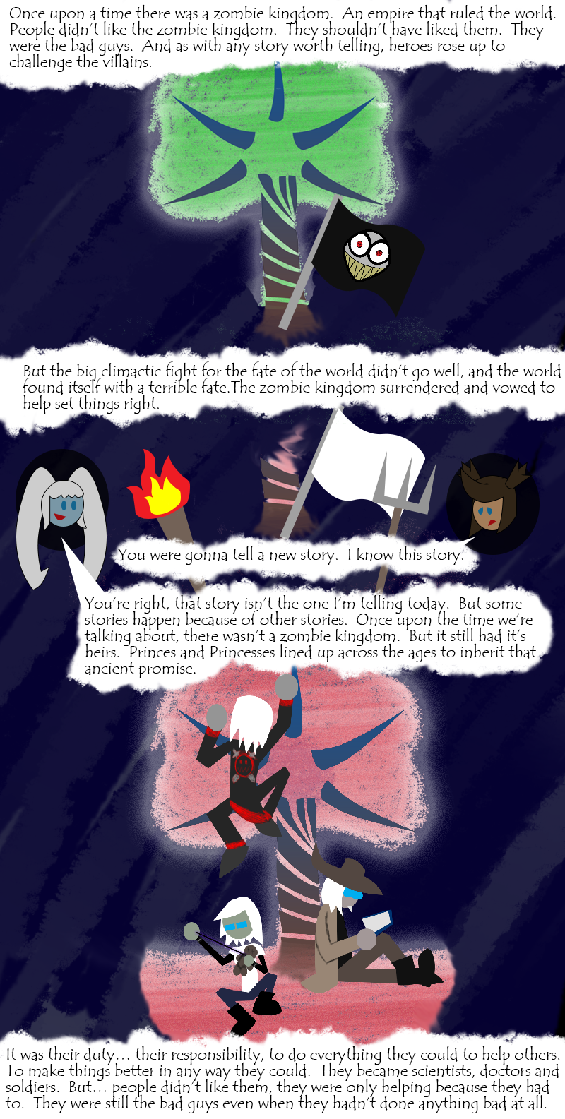 Oh hey, have some lore.